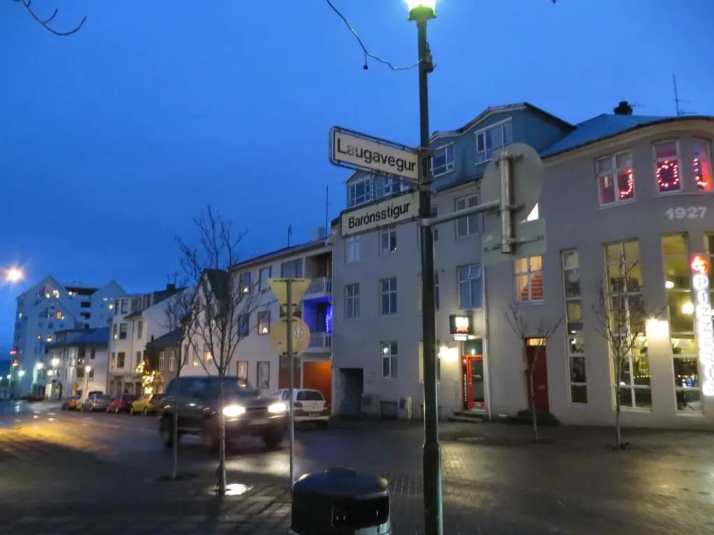 celebrating new year's eve in Reykjavik