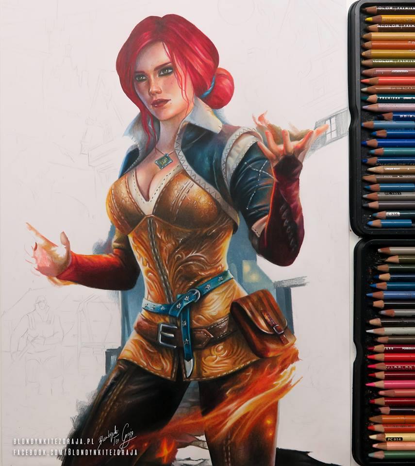 Redhead WIP by blondynkitezgraja