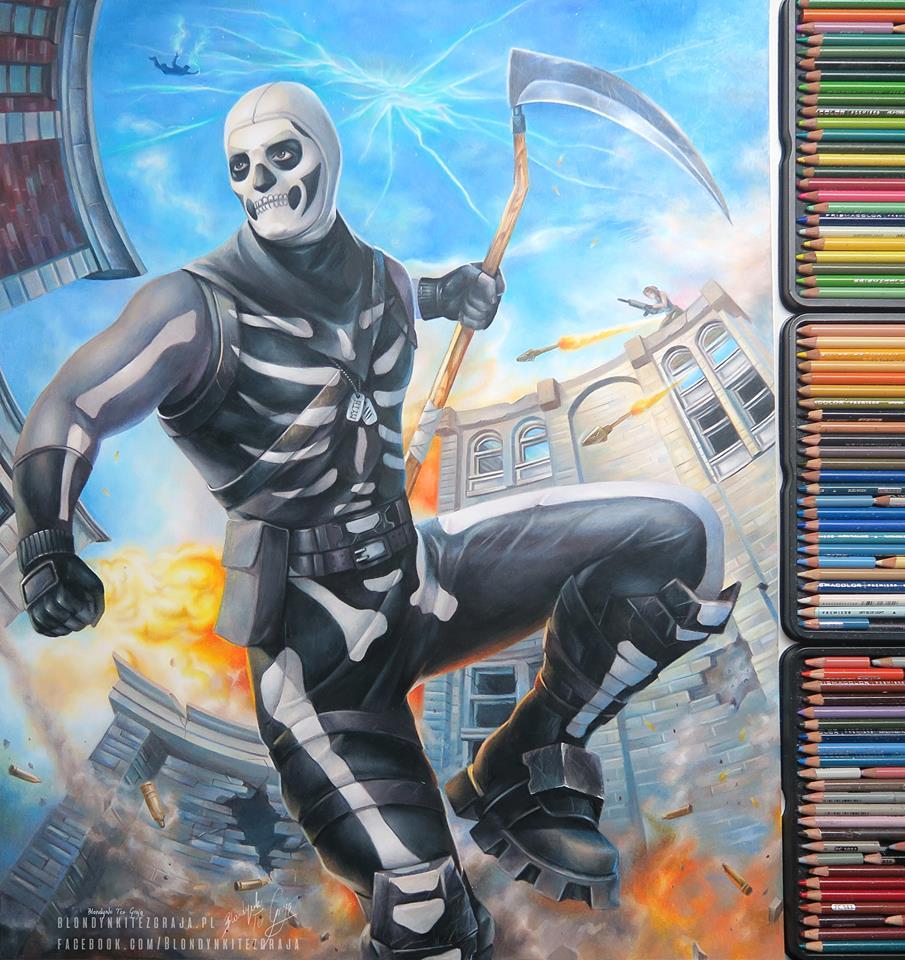 Skull Trooper by blondynkitezgraja