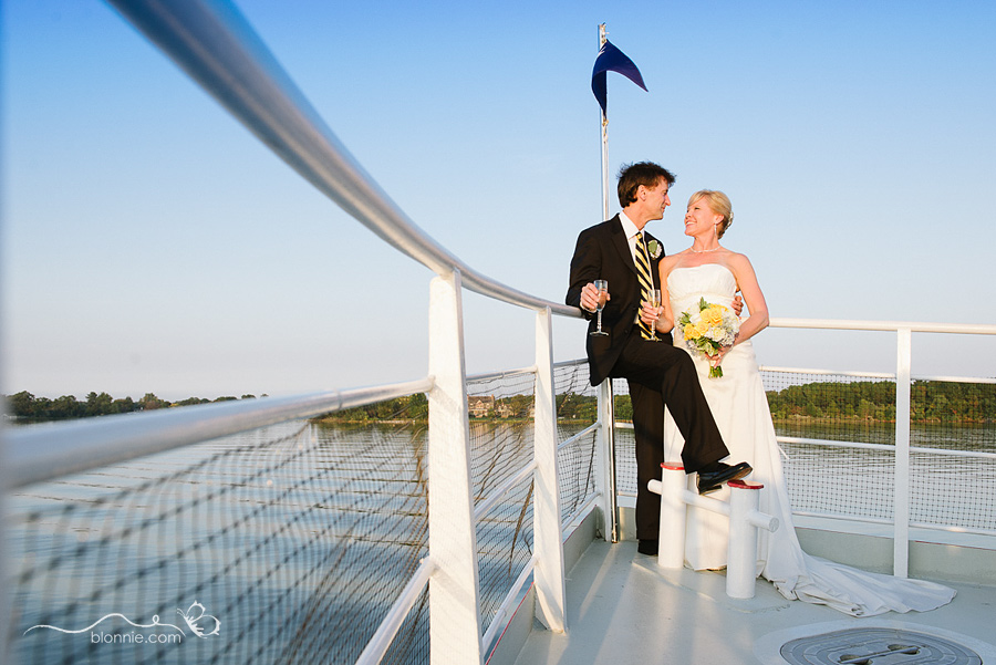 Sheri  Dirks St Michaels Wedding Aboard the Patriot Cruise