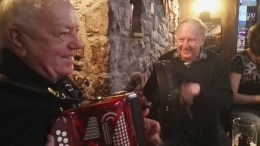 Jimmy and Michael having the craic! :)