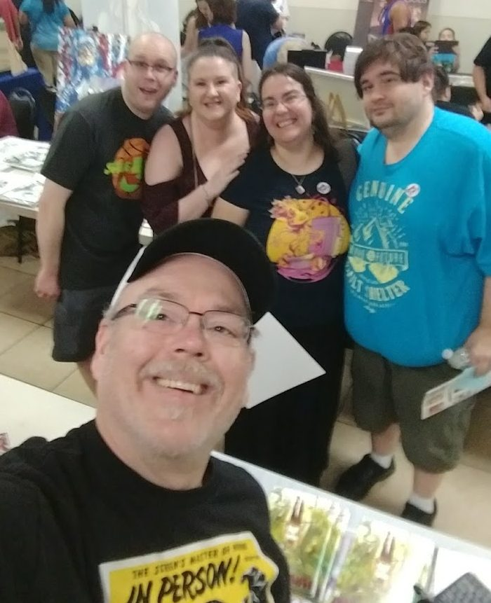 free comic book day selfie