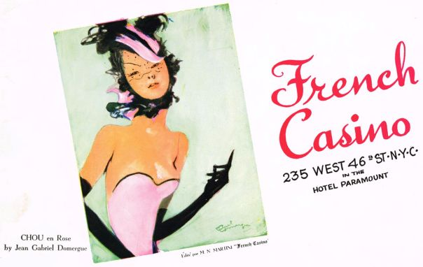 French Casino 235 W. 46th St. NYC in the Hotel Paramount
