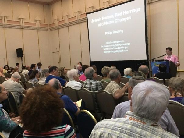 Speaking at IAJGS 2015