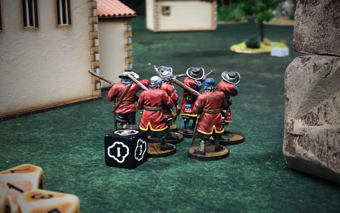 english militia models