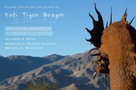 Yeti Tiger Dragon postcard