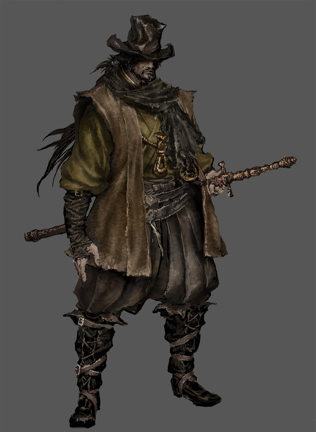 Old Hunter Yamamura  Bloodborne Wiki