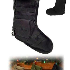 Tactical Christmas Sock- Zwart
