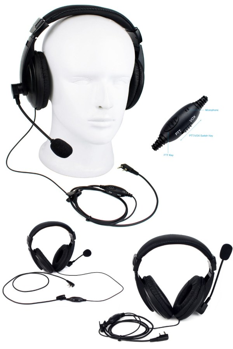 Tactical headset - PTT VOX