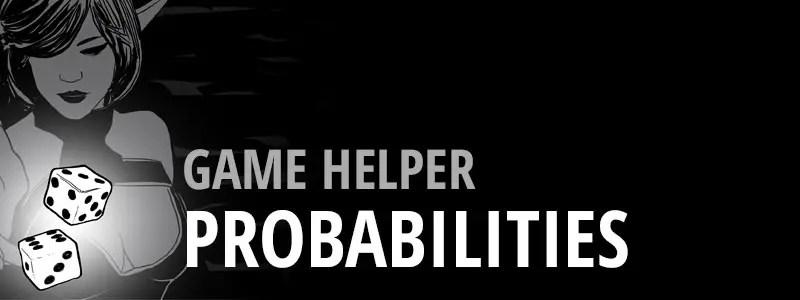 Game Helper - Probabilities