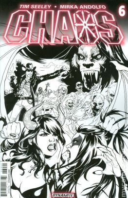 Chaos (2014) Issue #6 B&W Variant