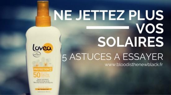 Ne jettez plus vos solaires - 5 astuces pour les recycler