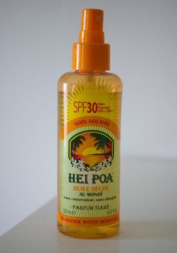 huile solaire hei poa
