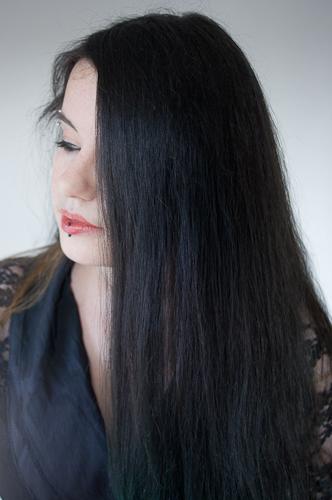 cheveux noir seraf