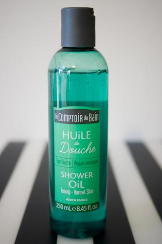 huile de douche