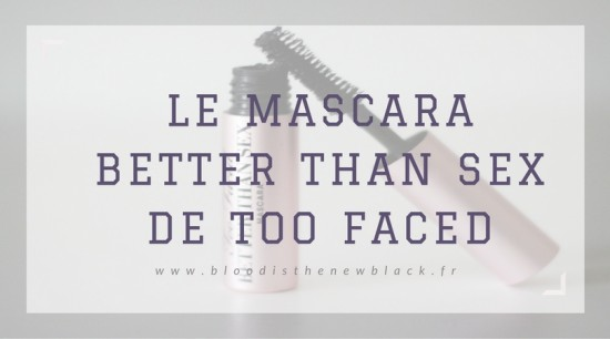 mascara better than sex