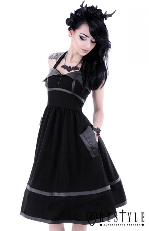 eng_pl_bat-dress-black-gothic-dress-with-bat-wings-50-style-retro-skirt-1607_5