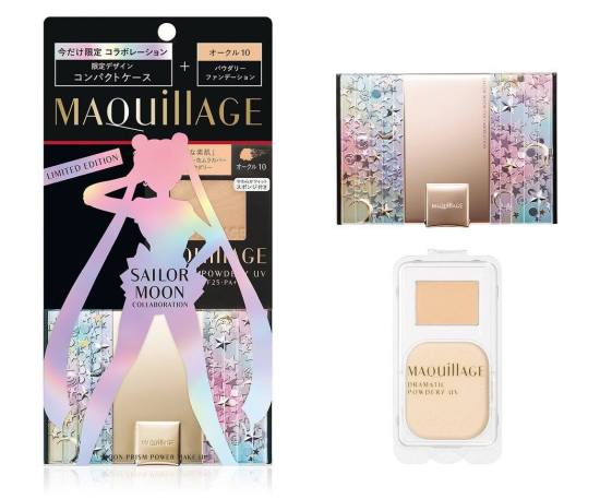 maquillage shiseido sailor moon collaboration