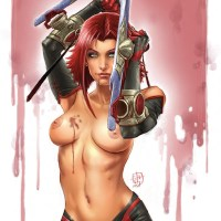 Busty Bloodrayne look awaysome