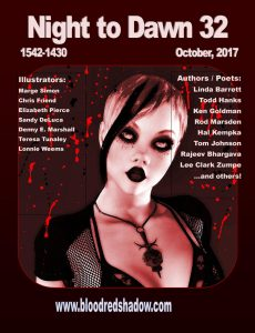 horror and zombie fiction published by Barbara Custer