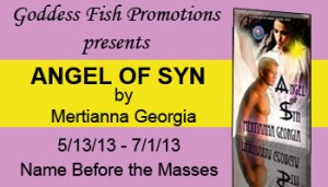 Angel of Syn features paranormal thriller.