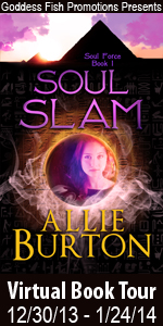 Allie Burton is featuring her dark fantasy Soul Slam