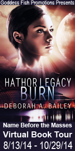 Debroah Bailey's Hathor Legacy features science fiction.