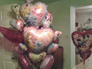 Barbara Custer loves her Mylar balloons and horror tales.