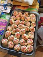 These tasty gluten-free pastries were baked by Barbara Custer.