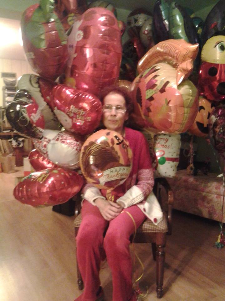 Barbara Custer loves Mylar balloonsand horror fiction.
