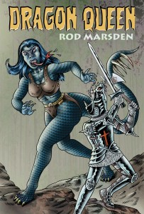 science fiction with dragons by Rod Marsden