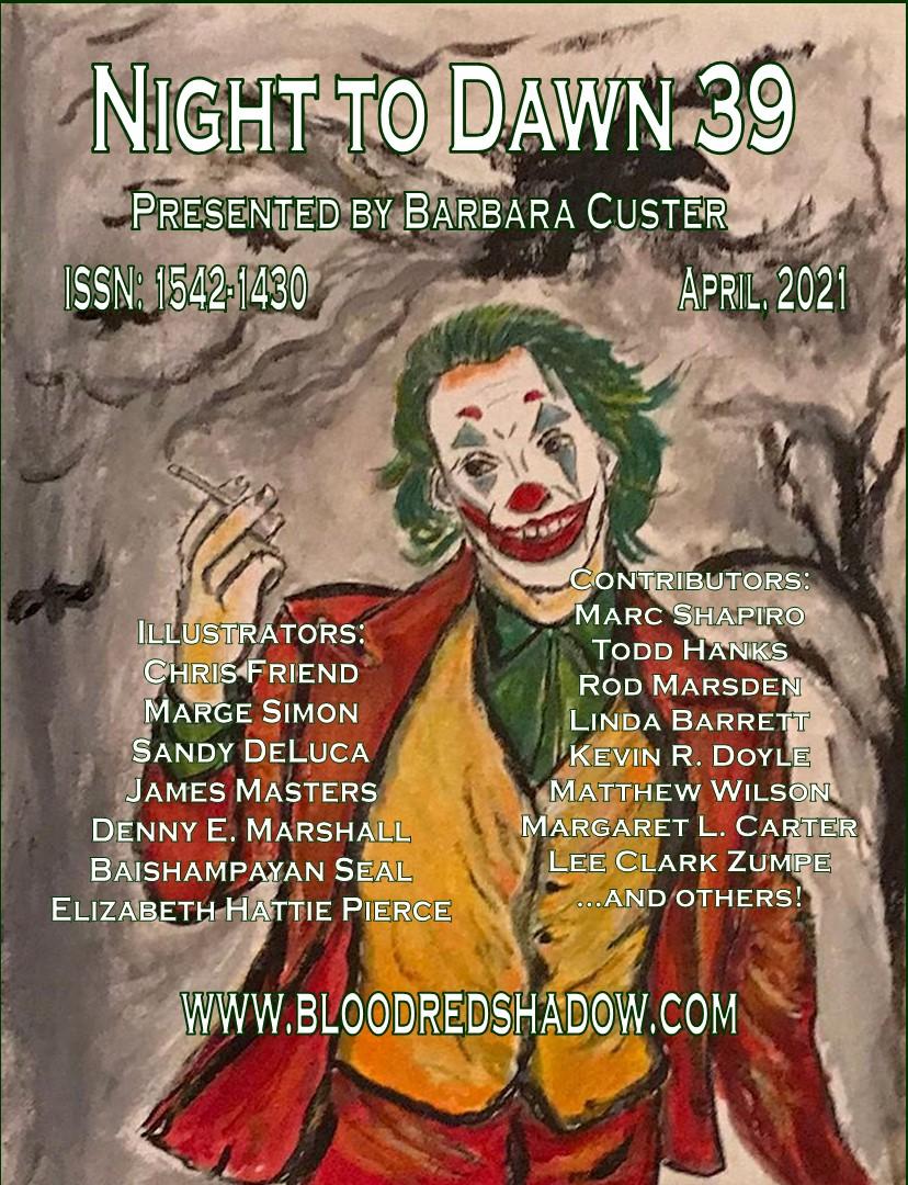 dark fantasy published by Barbara Custer