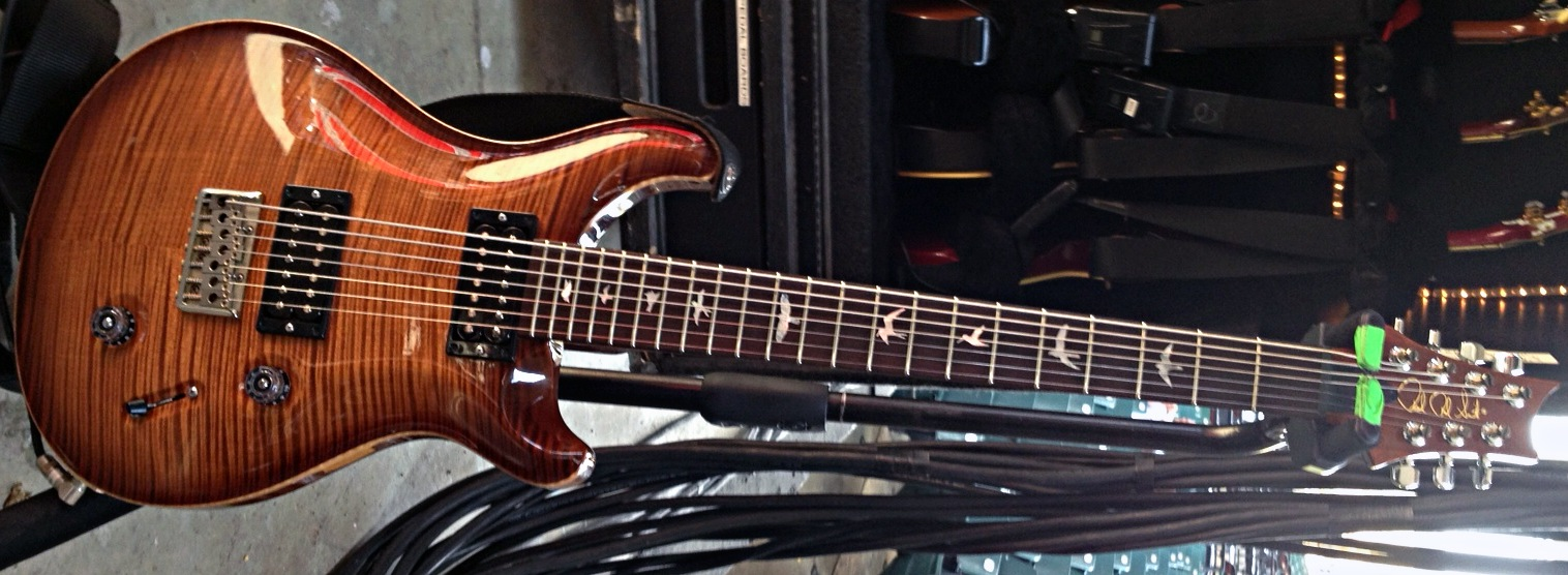 Super Rare Prs Guitar Stolen From Stainds Mike Mushok Bloody