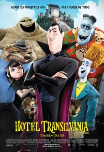 Latest 'hotel Transylvania' Posters Gather Motley Crew