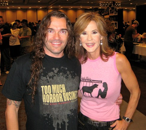 7 Jeremy Wagner & Linda Blair from The Exorcist