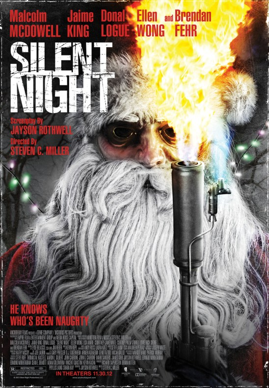 Silent Night Theatrical Poster