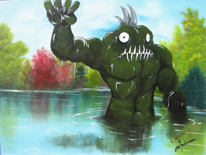 adding-monsters-to-thrift-store-landscape-paintings-chris-mcmahon-1