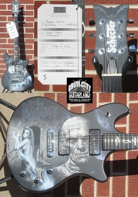 Schecter 2007 USA CUSTOM SHOP THE MUMMY 6-String Electric Guitar