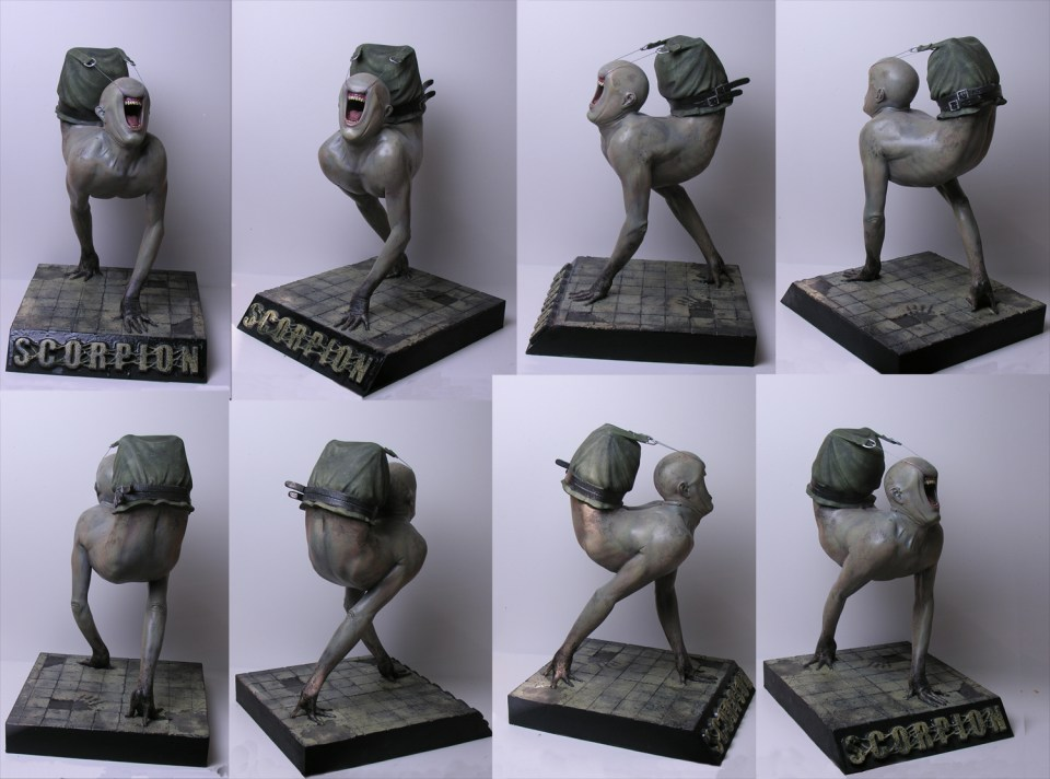 Scorpion_sculpt_by_StilleNacht