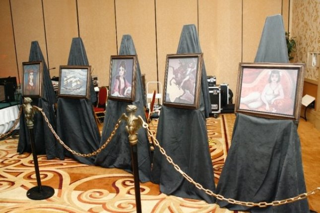 stanchions and changing pics