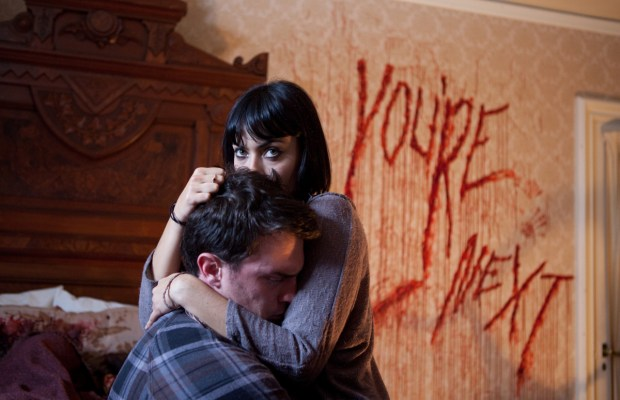 This 'You're Next' TV Spot Uses the 'Scream' Voice - Bloody
