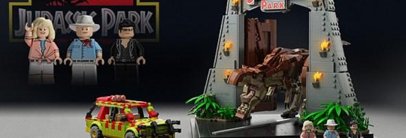Random Cool You Want A Jurassic Park Lego Set Bloody