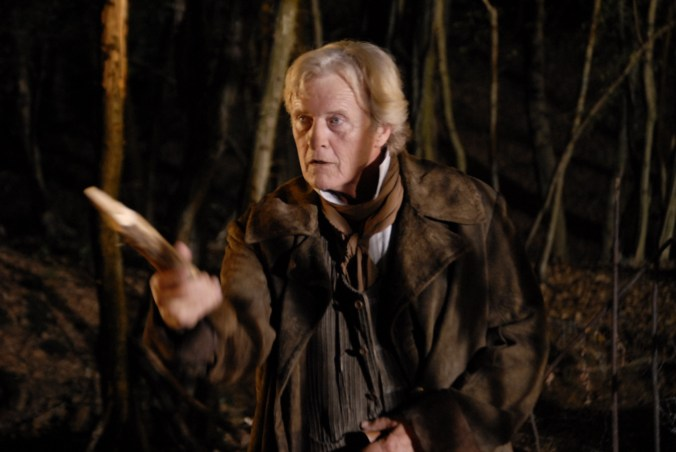 7. RUTGER HAUER AS THE VAMPIRE HUNTER VAN HELSING IN ARGENTO'S DRACULA 3D