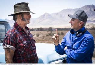 Wolf-Creek-2_John Jarratt as Mick Taylor with Director Greg Mclean 1
