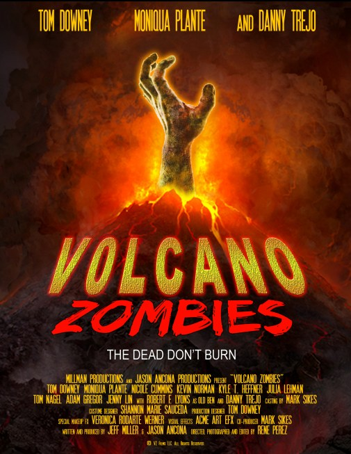 VOLCANO ZOMBIES poster 11-13