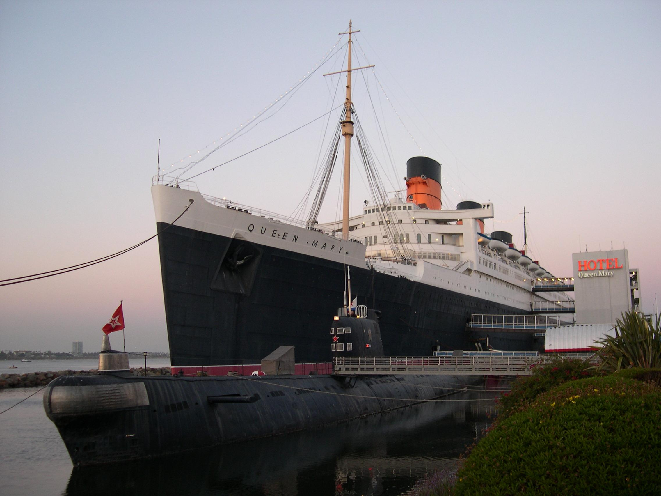 Vessels' to Film On the Haunted Queen Mary!
