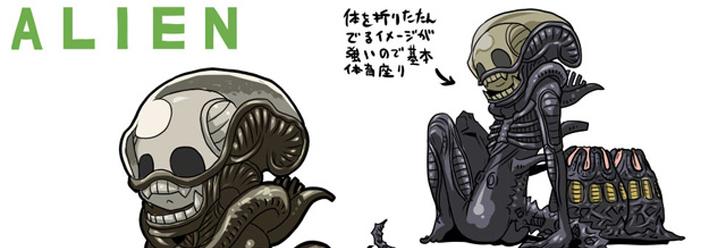 Random Cool] Horror Classics Gets Manga Treatment! - Bloody