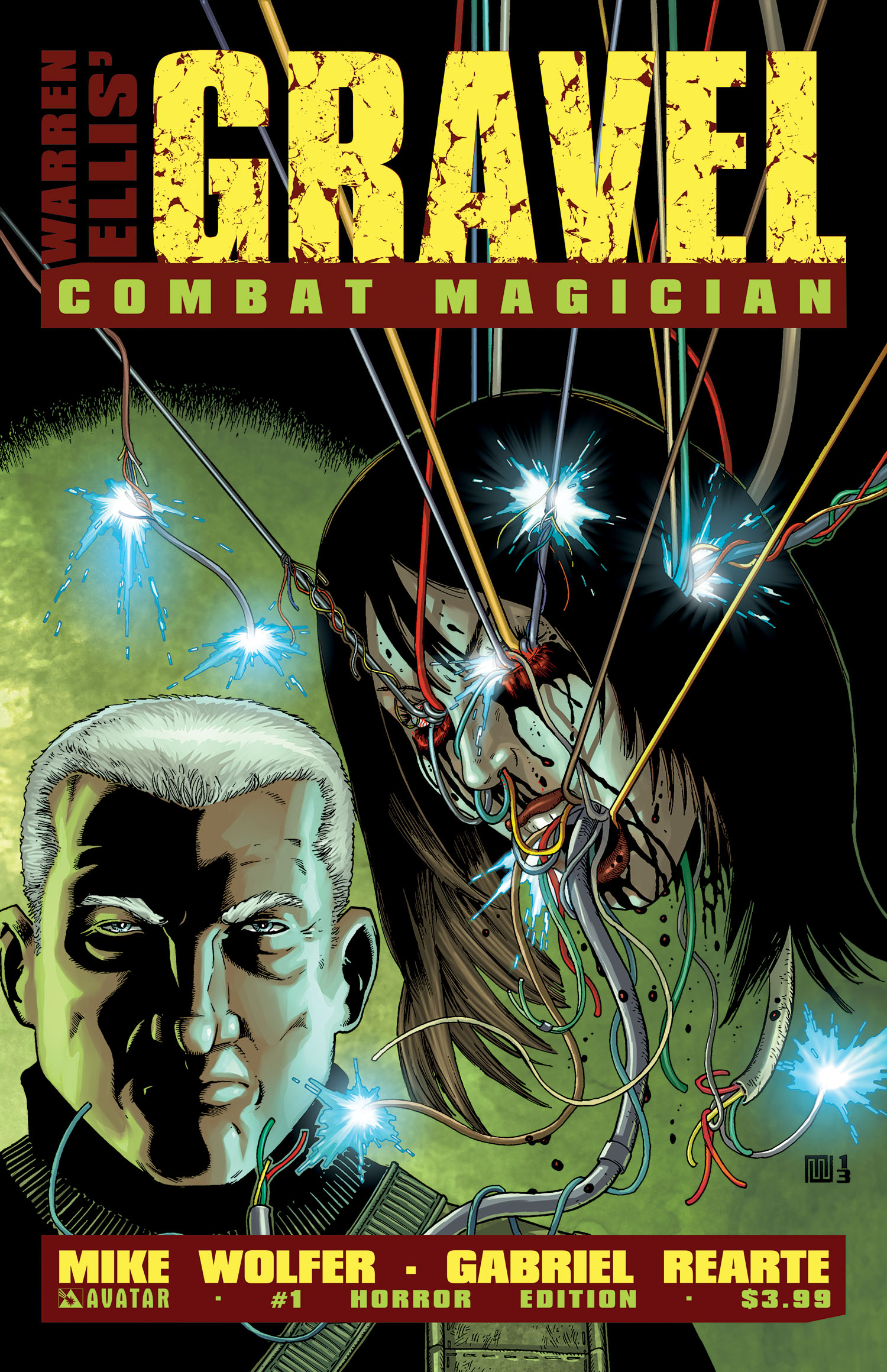 Review: 'Gravel: Combat Magician' #1 - Bloody Disgusting