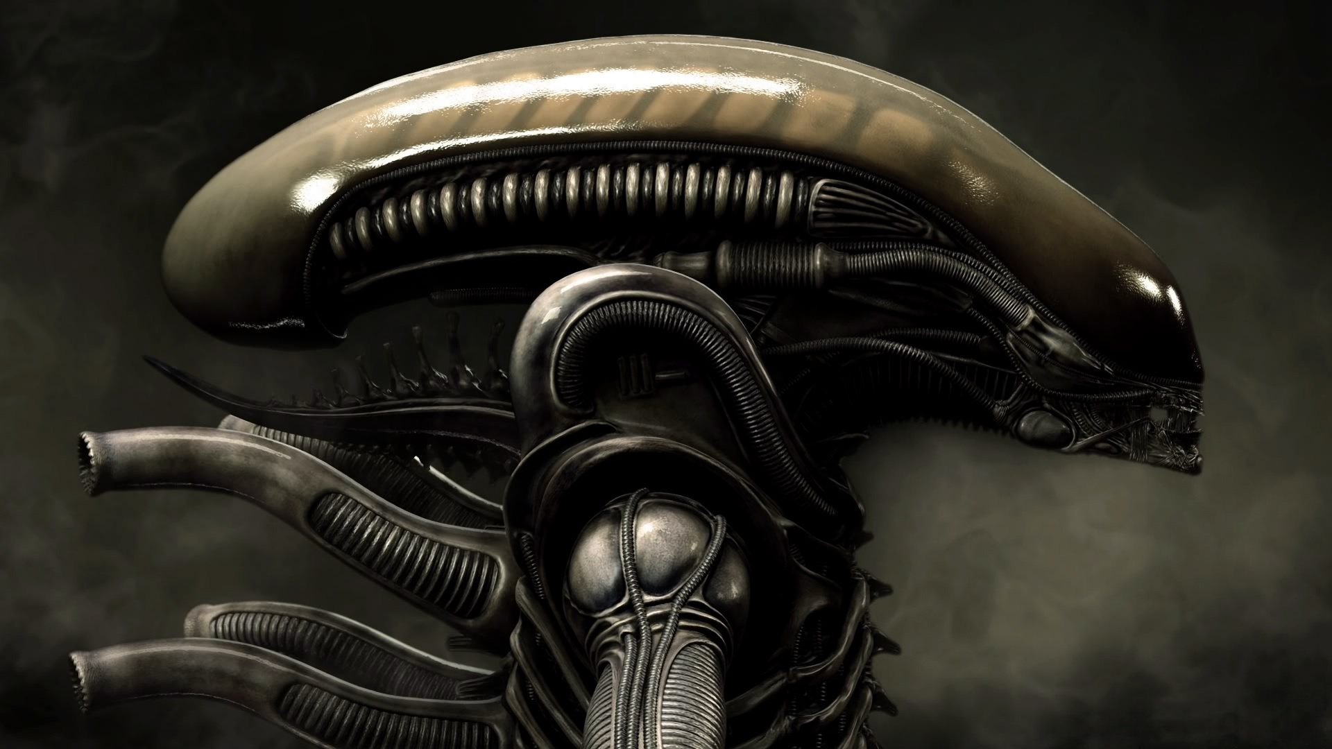 Alien Gallery: [Visions Of Horror] H.R. Giger's 'Necronomicon' / Ridley