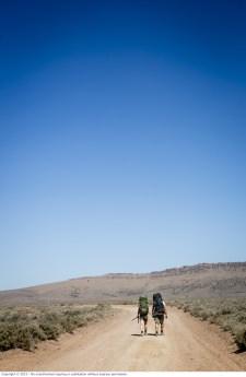 WolfCreek2_Backpackers on dirt road